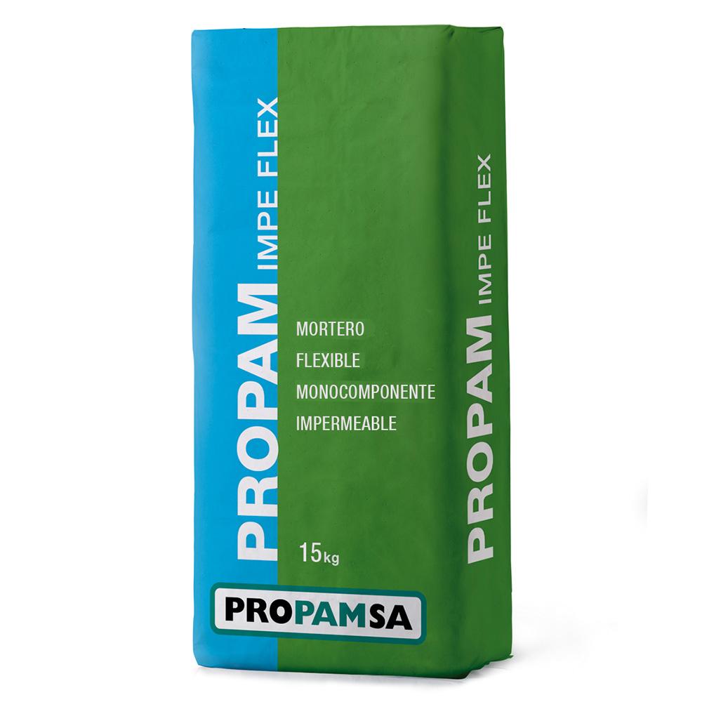Cemento Impermeabilizante Propam Imperflex gris saco 25 kg.