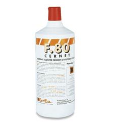 F80 CERNET LIQUIDO Detergente para limpiar residuos de adhesivos. Cercol