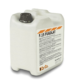 F15/L FUGOLAT Látex sintético para aditivar selladores a base de cemento Cercol