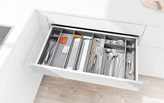 Armario inferior para utensilios de preparación