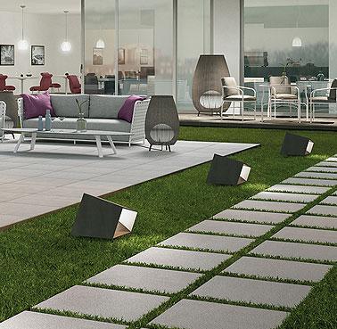 Marazzi outdoor  60x60 cm. 20 mm. Rectificado, Antideslizante Ambiente