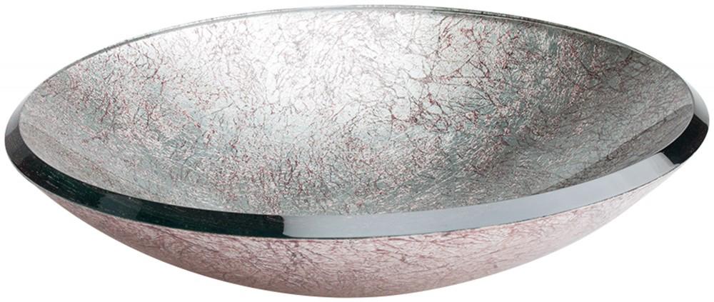 Lavabo cristal Redondo Silver Dune