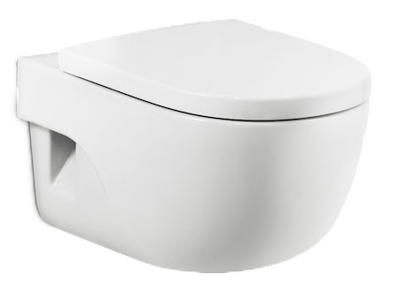 WC Meridian blanco suspendido Roca