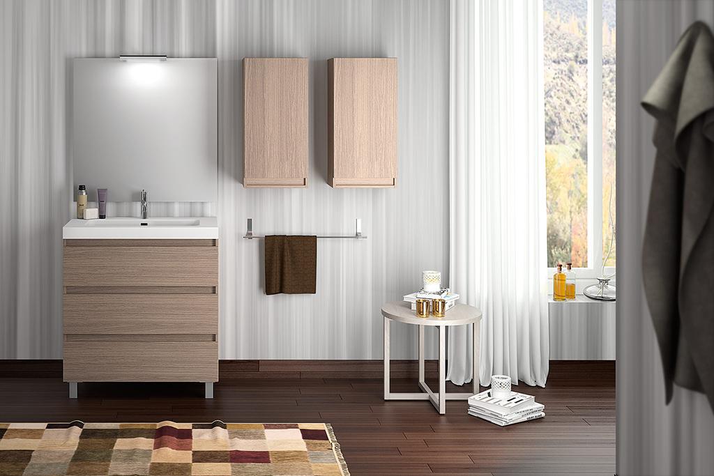 Mueble de baño BOX   80 cm Visobath
