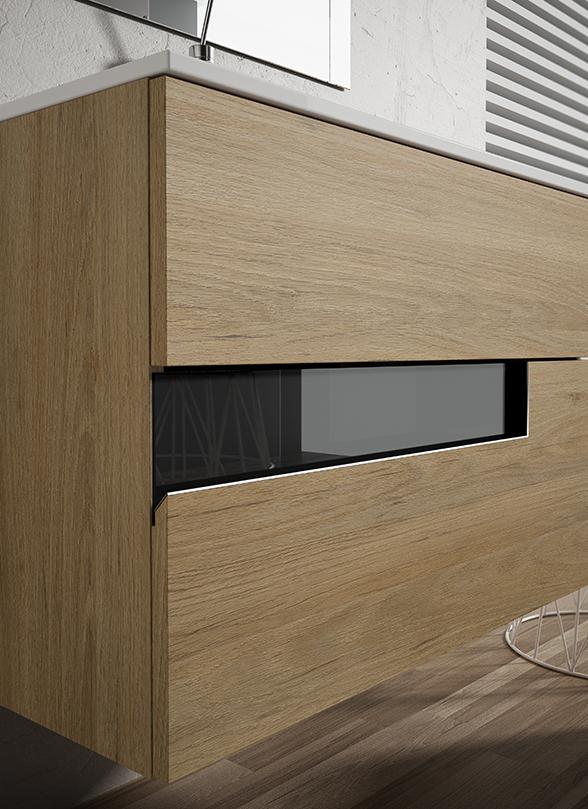 Mueble Visobath Vision07 80 cm. Detalle