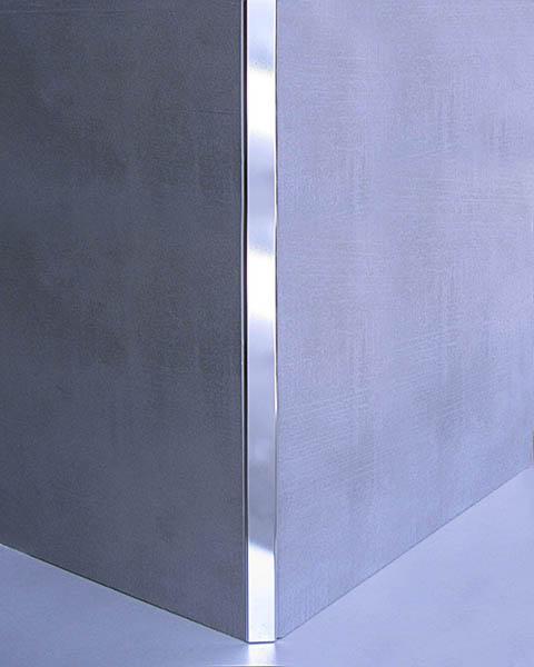 NOVOBISEL® Aluminio cromado