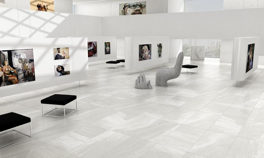 Pavimento porcelánico MATERIA Apavisa