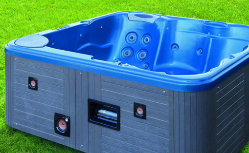 Mini piscina de hidromasaje Paipi II Hidronatur