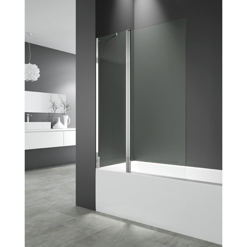 Cristal abatible bañera Fijo + Puerta 150x122 cm  Segurizado GME