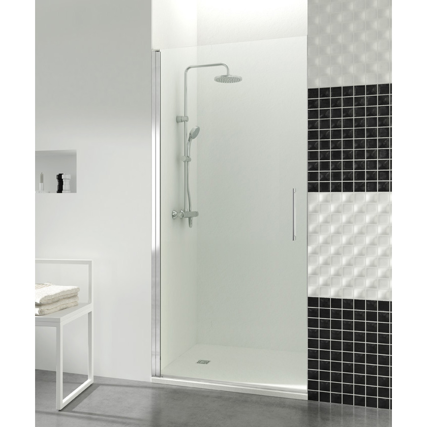 Mampara ducha Open 80 cm. 1 puerta Segurizado GME